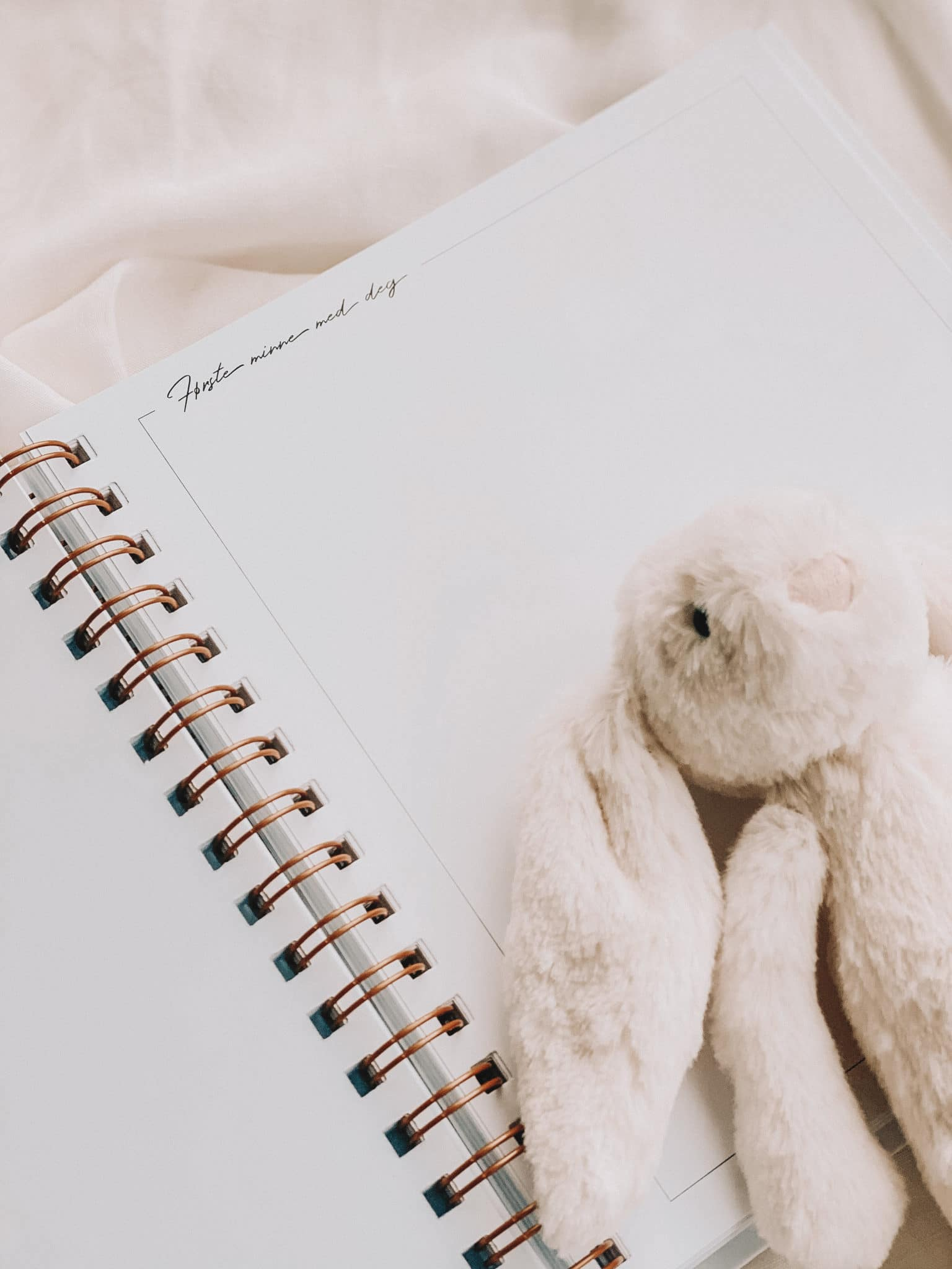 Min Babybok – Graviditeten og barnets første år! Vår nydelige babybok er laget for å ta vare på alle minnene i den spesielle tiden gjennom graviditeten til barnet feirer sitt første leveår. Det er så mange stunder, minner og tanker man gjerne vil se tilbake på! Vi har samlet alt i vår babybok – med masse plass til notering, bilder og mulighet til å personalisere slik du/dere ønsker!